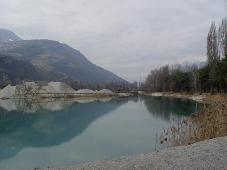 Les Iles Sion /VS,Schweiz