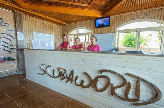 Scuba World Divers Tauchcenter - Unsere Rezeption, Scuba World Divers Marsa Alam, Lagoon View Resort, Ägypten, El Quseir bis Port Ghalib