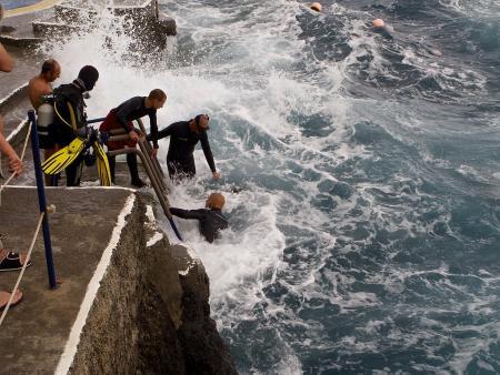 Manta Diving Madeira,Canico,Portugal