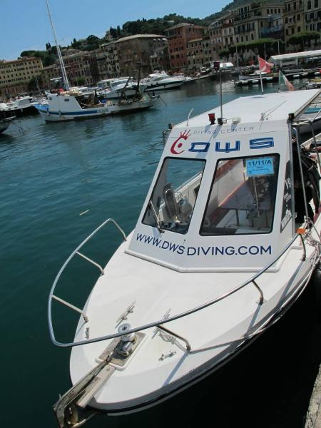 DWS Diving Center,Santa Margherita Ligure (Ligurien),Italien