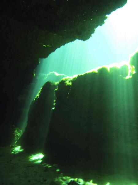 Go Cavern Diving,Puerto Aventuras,Mexiko