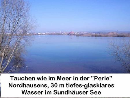 Sundhäuser See,Nordhausen,Thüringen,Deutschland