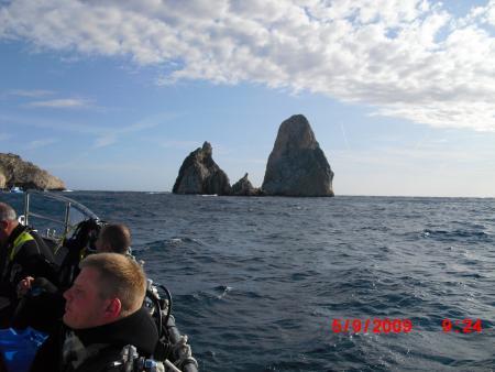 Medas-Inseln,Estartit,Spanien