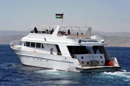 M.Y.Harmattan , Sinai Divers Aqaba, Jordanien