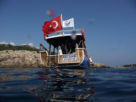 Blue World Diving Center,Hotel Marti Myra,Tekirova / Antalya,Türkei