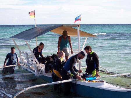 Flower Beach Divers,Anda,Philippinen
