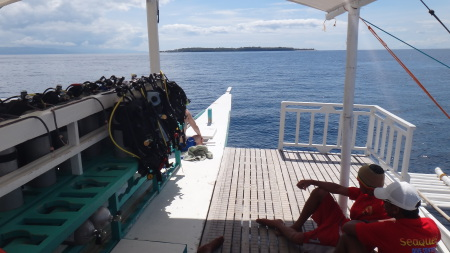 SeaquestDive Center,Bohol,Philippinen