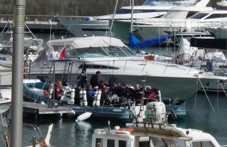 Techdive,Porto di Arenzano,Wrack Haven (ehem. Amoco Milford Haven),Italien