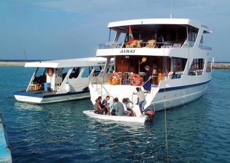 Asmas,Safariboot,Malediven