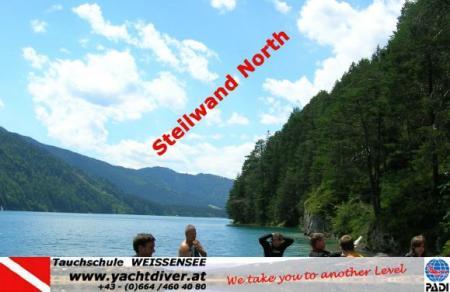 Weissensee / Steilwand North,Österreich