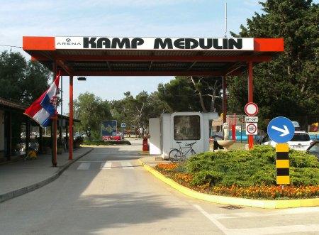 Mobilhomes Camping Medulin,Kroatien