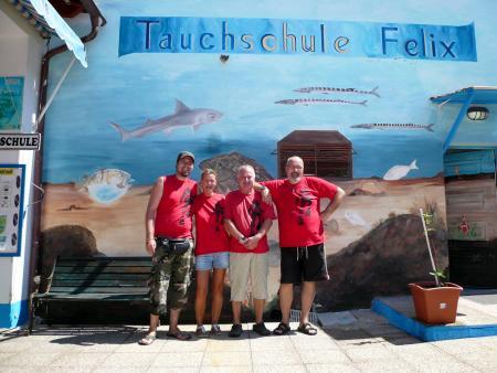 Tauchschule Felix,Jandia,Fuerteventura,Kanarische Inseln,Spanien