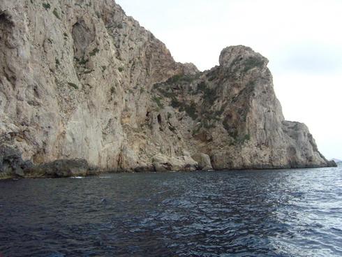 Mallorca - Paguera - Claudia Schiffer Felsen, Mallorca - Paguera,Spanien