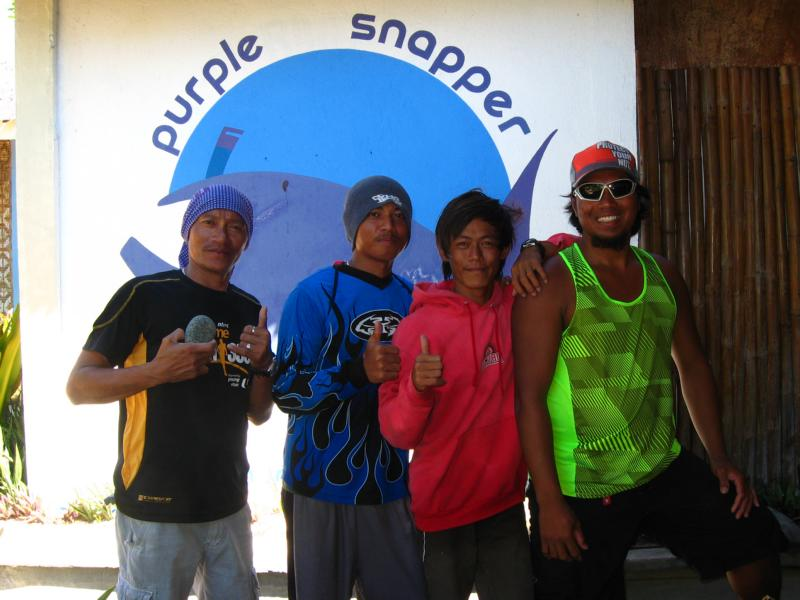 Purple Snapper Team, Malapascua Island, Cebu, Purple Snapper, Philippinen