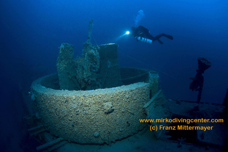 Mirko Diving Center, Barbat, Insel Rab, Kroatien