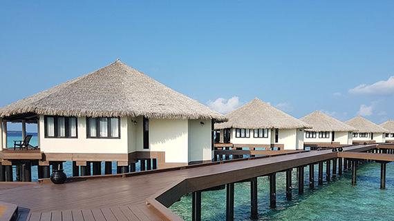 Wasservillas, Wasservillas, Ocean Dimensions, Kihaa Maldives, Baa Atoll, Malediven