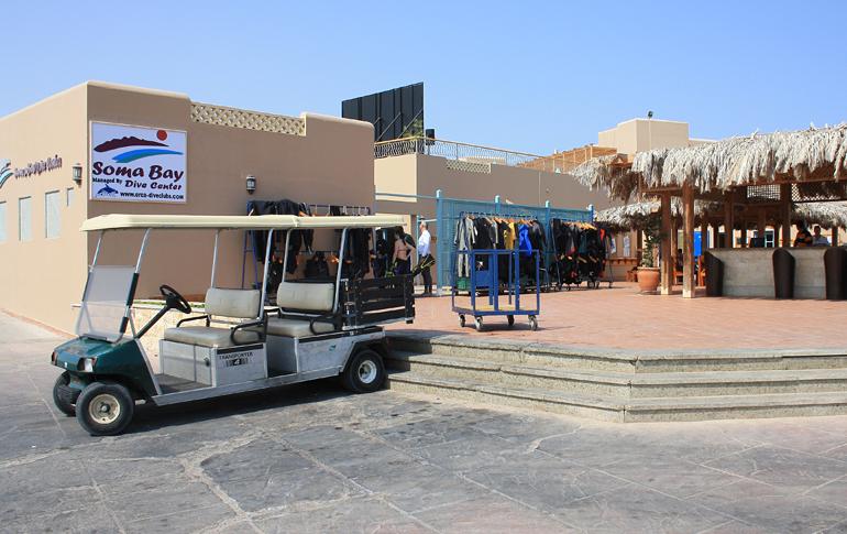 ORCA Dive Club, Soma Bay, Ägypten, Safaga