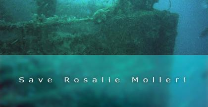 Wrack der Rosalie Möller,Ägypten