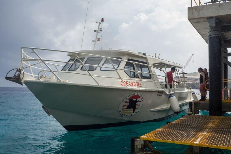 "Extra Divers' ""Ocean Runner"", Extra Divers Christmas Island, Australien"