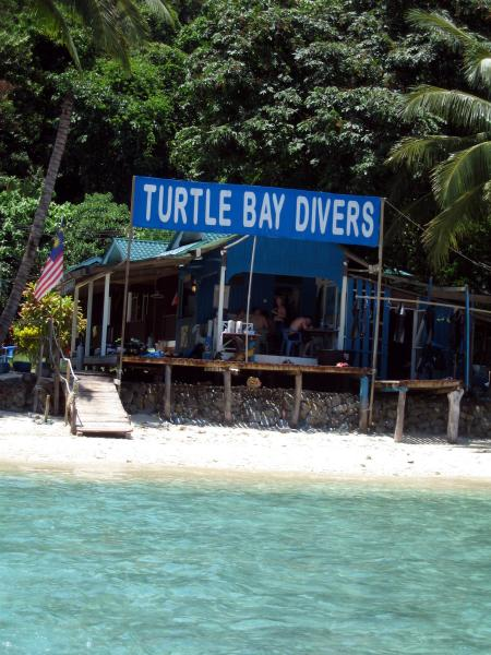 Turtle Bay Divers,Perhentian Kecil,Malaysia