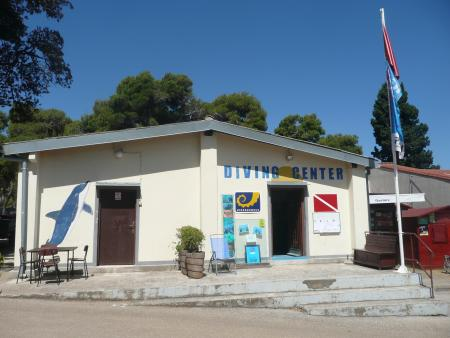 Hippocampus Diving Center,Pula/Istrien,Kroatien
