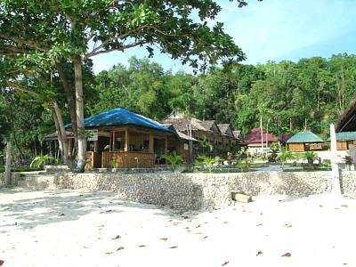 Robinson Cruse Beach Resort,Philippinen