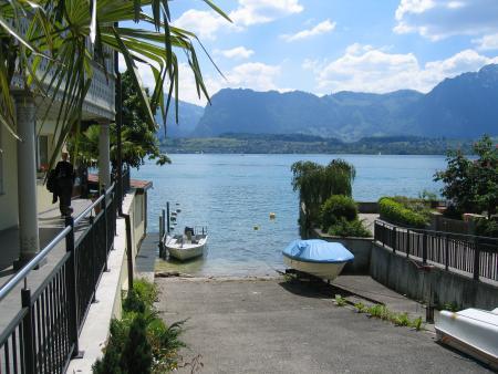 Tauchtreff Thuner See Ruedi Omlin,Schweiz