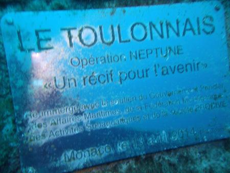 Le Toulonnais (Wrack),Monaco
