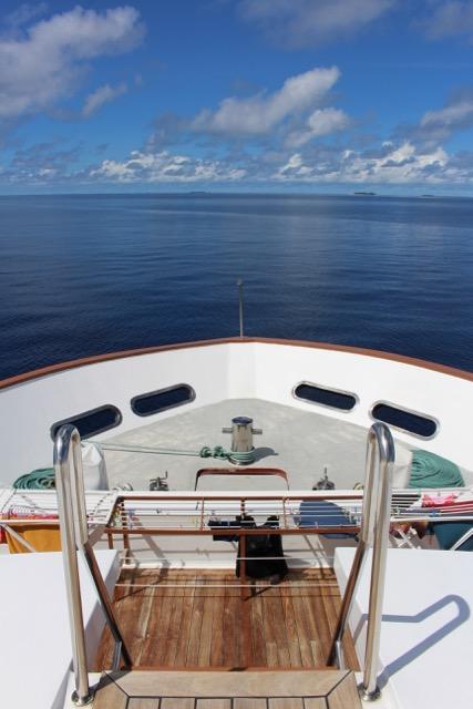 Schiff , Carpe Novo Explorer, Malediven