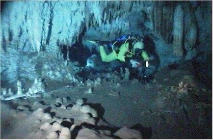 Höhlentauchen, Höhlentauchen,Dominikanische Republik