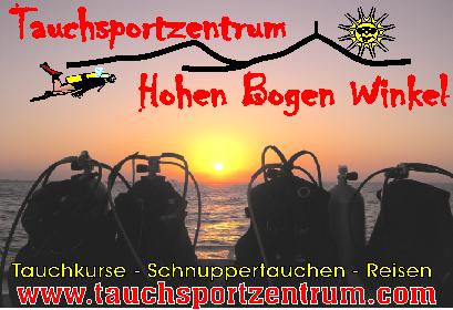Tauchreise Ägypten, Tauchsportzentrum Hohen Bogen Winkel, Deutschland, Bayern
