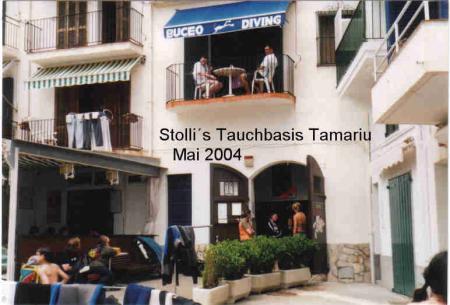 Stollis Tauchbasis,Tamariu,Festland,Spanien
