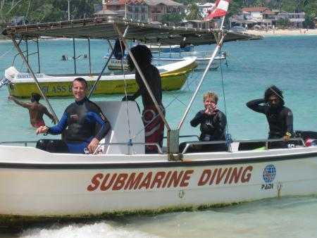 Submarine Diving School,Unawatuna,Sri Lanka