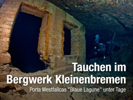 Besucherbergwerk Kleinenbremen Kreis Porta Westfalica,Nordrhein-Westfalen,Deutschland