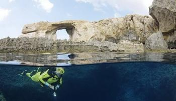 DiveInside Gozo - Blue Hole, Azure Window