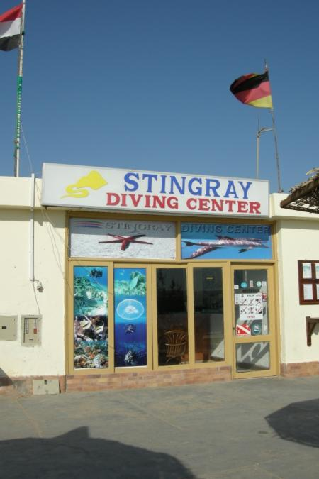 Stingray Diving Center,Hurghada,Ägypten