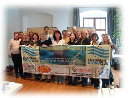Europäischer Tauchsportverein e.V.,Europaweit !!!,Europaen Diving Club / Europäischer Tauchverein EDC / ETV,Nordrhein-Westfalen,Bayern,Deutschland