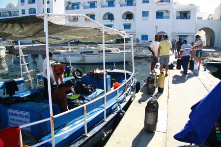 S.A.A.M Diving Center Monastir/Hotel Thalassa,Tunesien