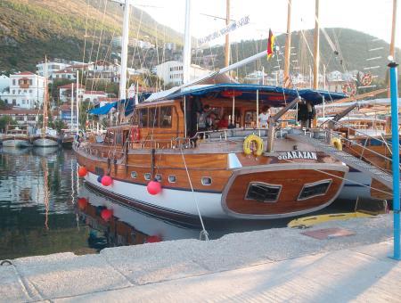 MS Sharazan,Türkei