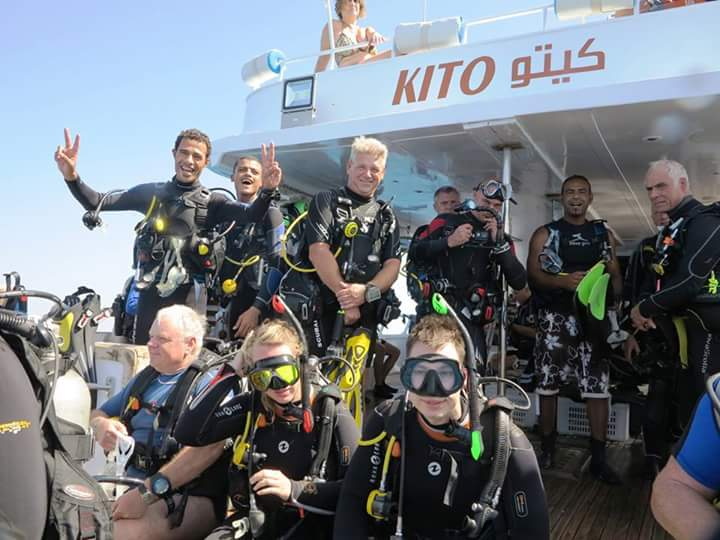 KITO , Boat, diving, red sea, hurghada, Makadi bay, pdl, PDL im Sunrise Select Royal Makadi, Ägypten, Safaga