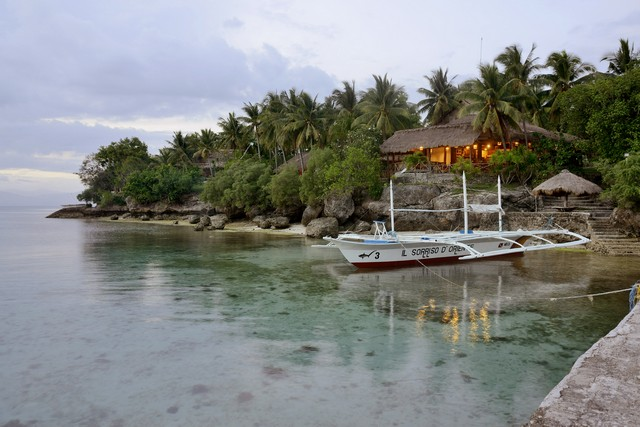 Willkommen bei Sampaguita & den Gangga Divers, Tauchen, Schnorcheln & Urlauben im Sampaguita Resort, Cebu, Philippinen, Sampaguita Resort, Tongo Point, Maolboal, Cebu Island