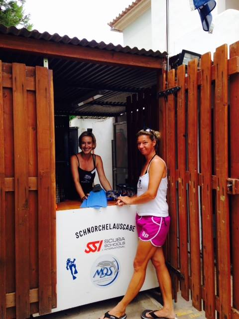 Unser Schnorchelcounter, MDS Michaels Diving School, Cala Serena, Mallorca, Spanien, Balearen