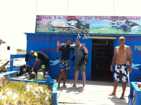 Club La Sirene de Plongee,Djerba,Tunesien