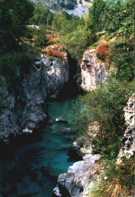 Flußtauchen, Flußtauchen,Slowenien
