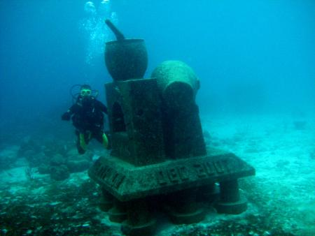 Calabas Reef Bonaire,Bonaire,Niederländische Antillen