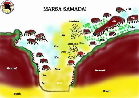 Marsa Samadai,Ägypten