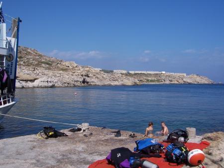 Rhodos Kalithea-Bucht,Griechenland