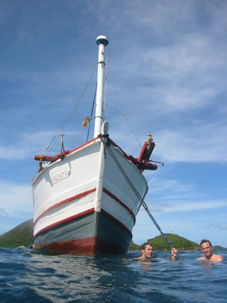 MY Maribeth: Busuanga,Coron Bay,Wreck Tour,Philippinen