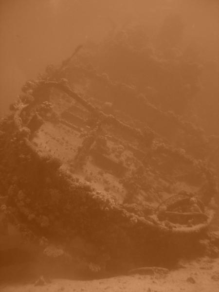 Wrack des Schleppers Tienstin,Abu Galauwa Kebir,Ägypten