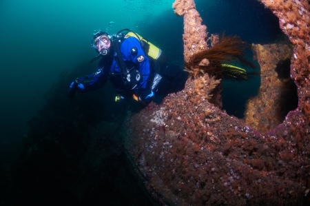 Diving Cellar,Stromness- Scapa Flow,Schottland,Großbritannien